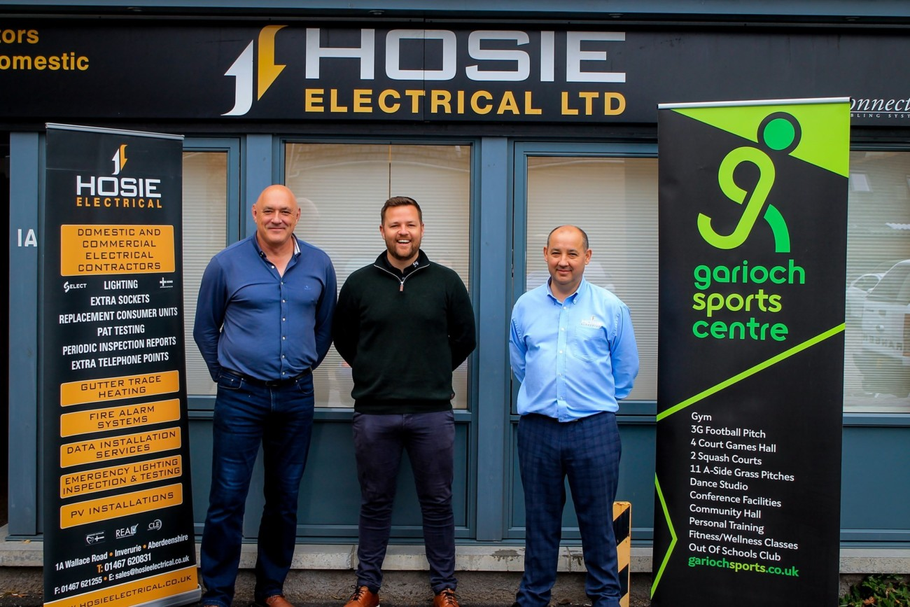 New Partnership with Hosie Electrical