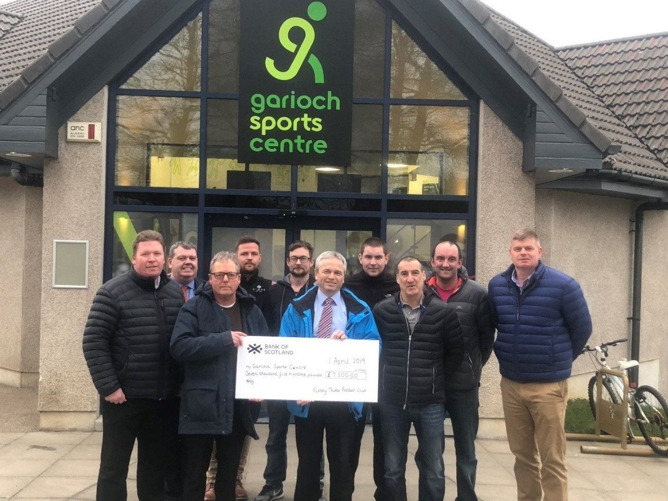 Garioch Sports Centre Launches Just Giving