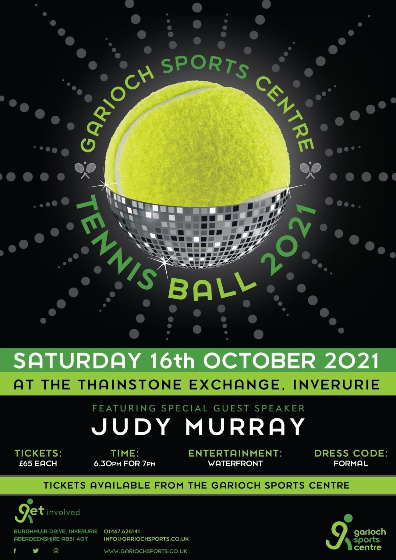 Garioch Sports Fundraising Ball