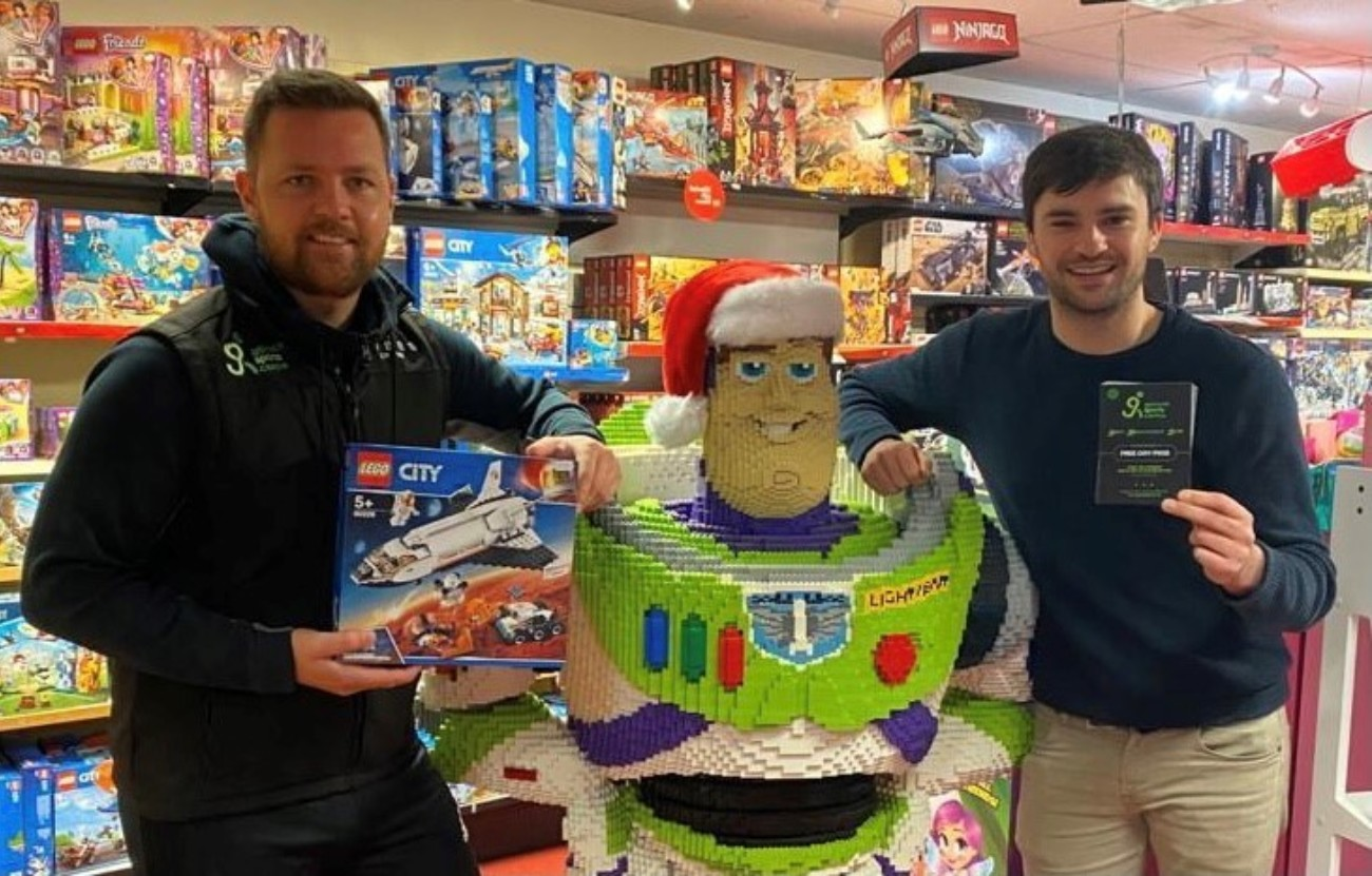GSC JOINS FORCES WITH LOCAL BUSINESS IN A BID TO INCREASE GIFT DONATIONS TO CASH FOR KIDS' CHRISTMAS APPEAL