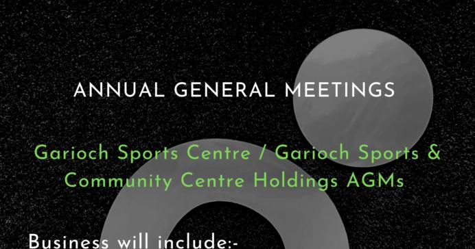 Annual General Meetings 2021