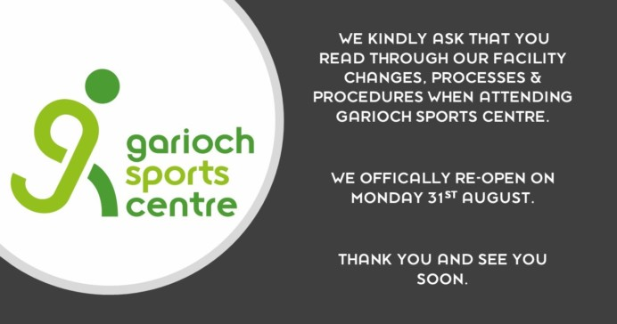 Garioch Sports COVID-19 Procedures & Processes