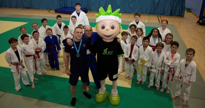 LOCAL JUDO CHAMP SUPPORTS AND INSPIRES NEXT GENERATION OF JUDO PLAYERS
